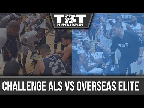 Sean Marshall, Team Challenge ALS playing for $2 million, Pete Frates in TBT championship game