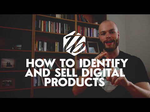 Selling Digital Products Online — How To Sell Digital Downloads & Find A Market | #118