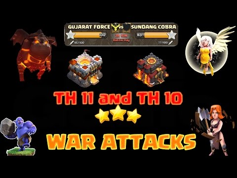 Th11 and Th10 3 Star WAR ATTACKS || GUJARAT FORCE