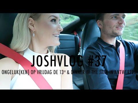 JOSHVLOG #37 | ONGELUK(KEN) OP VRIJDAG DE 13e & DINNER @ THE JANE IN ANTWERPEN