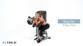 TRUE Workout Series - Biceps Triceps Workout