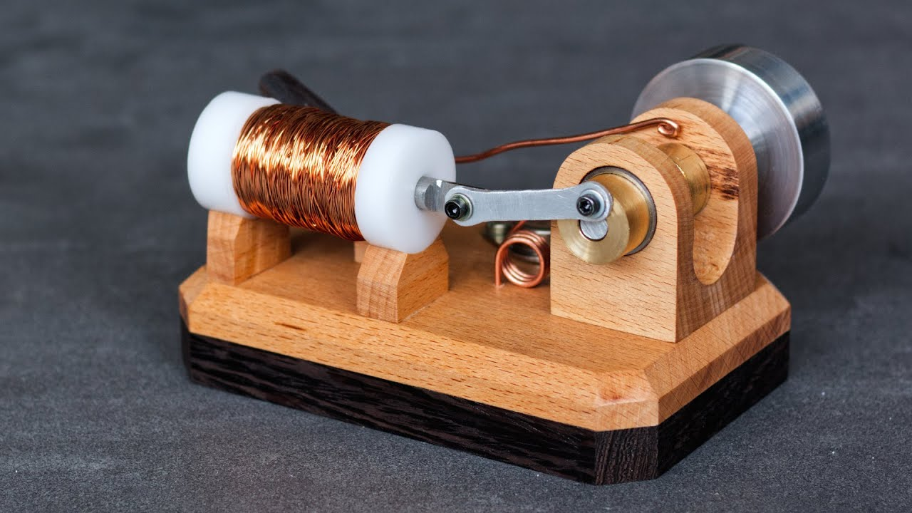 Download How to make a Solenoid Engine