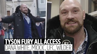 """Grow a pair, sign the contract!"" Tyson Fury unleashes rant on Dana White, Miocic, UFC and Wilder"