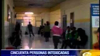 Intoxicación masiva por consumo de chicha en la provincia de Cotopaxi