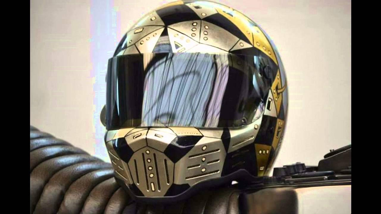 Custom Motorcycle Helmets  Miscellaneous Look Ideas  YouTube