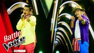 อู VS เอ็ม - กำนันทองหล่อ - Battle - The Voice Thailand 2018 - 4 Feb 2019