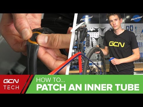 How To Fix A Flat Tyre - Patch A Tube & Save Money