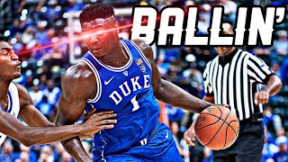 Zion Williamson Mix ~ Ballin' (2019 PELICANS HYPE) | HD