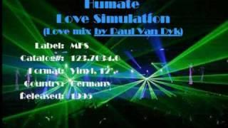 Humate - Love Simulation (Love Mix by Paul Van Dyk)