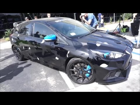 Jake Paul S Camo Ford Focus Rs At San Diego Cars And Coffee Youtube