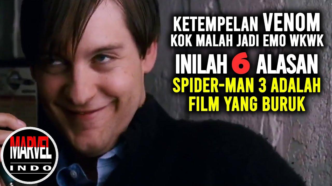 Alasan SPIDER-MAN 3 adalah film yang BURUK