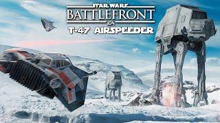 STAR WARS BATTLEFRONT #3 | T-47 AIRSPEEDER C/ DAIZER