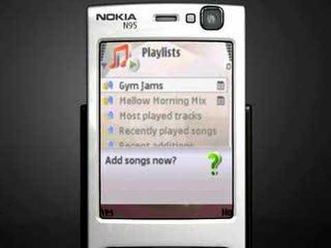 Nokia Music Player Demo