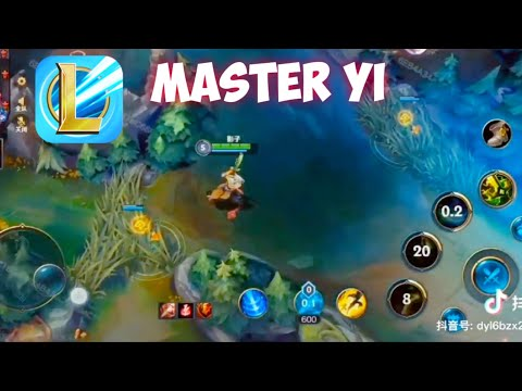 [LoL] Mobile Wild Rift: Master Yi Jungle Gameplay!   Leaked Gameplay Closed Beta Server!