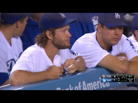 COL@LAD: Scully on visit from Kershaw and daughter