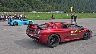 Dallara Stradale vs Lamborghini Diablo vs Porsche 991 GT2RS