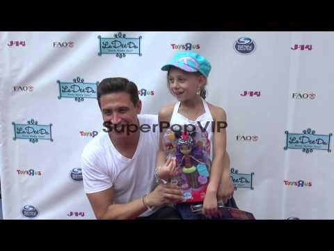 Erik Palladino and his niece Mia at La Dee Da  La...