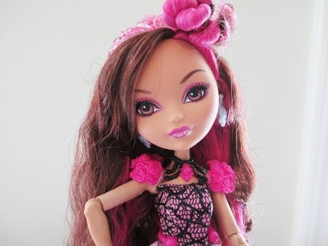 Ever After High Briar Beauty Doll Review - YouTube