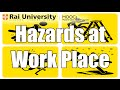 Hazard at Work place (Introduction to Carpentry)