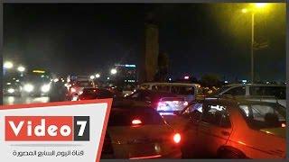 بالفيديو.. شلل مرورى أعلى كوبرى قصر النيل تزامنا مع الاحتفال بثالث أيام عيد الأضحى