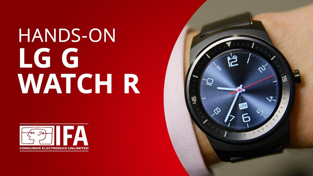 8930b0776fd Conheça o LG G Watch R