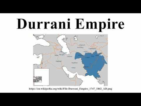 Durrani Empire