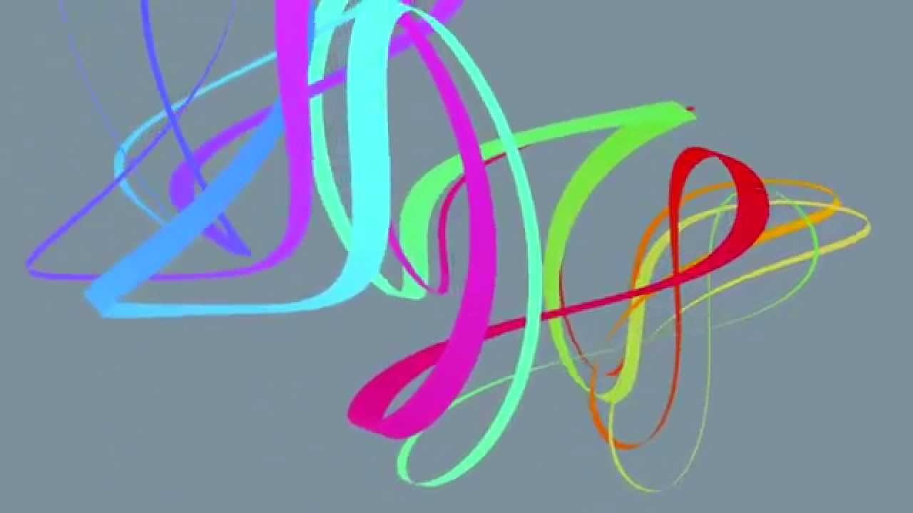 Tune Smithy tune: la folia chords with Lissajous Pattern: colourful ...
