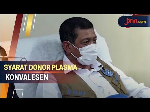 Sembuh Dari Covid-19, Doni Monardo Donor Plasma Konvalesen