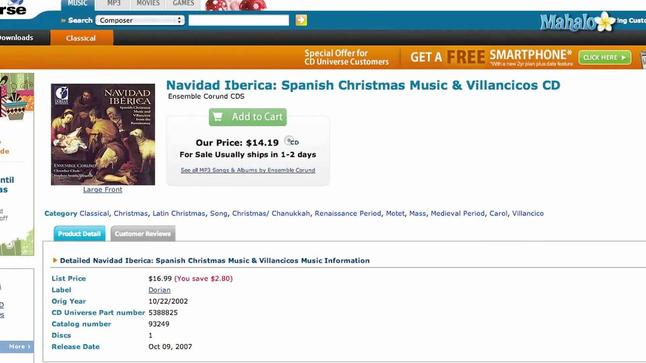 Spanish Christmas Music - YouTube