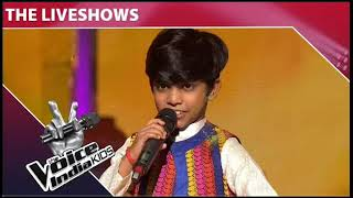 Mohd Fazil    Rang Barse    The voice of India kids    Buc music