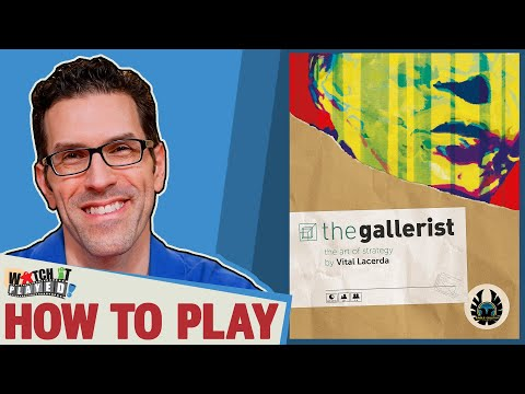The Gallerist - How To Play