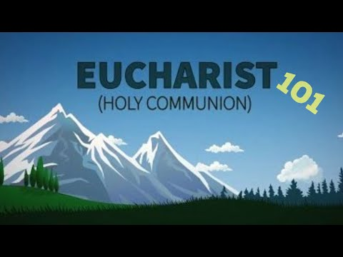 Eucharist 101   Catholic Central