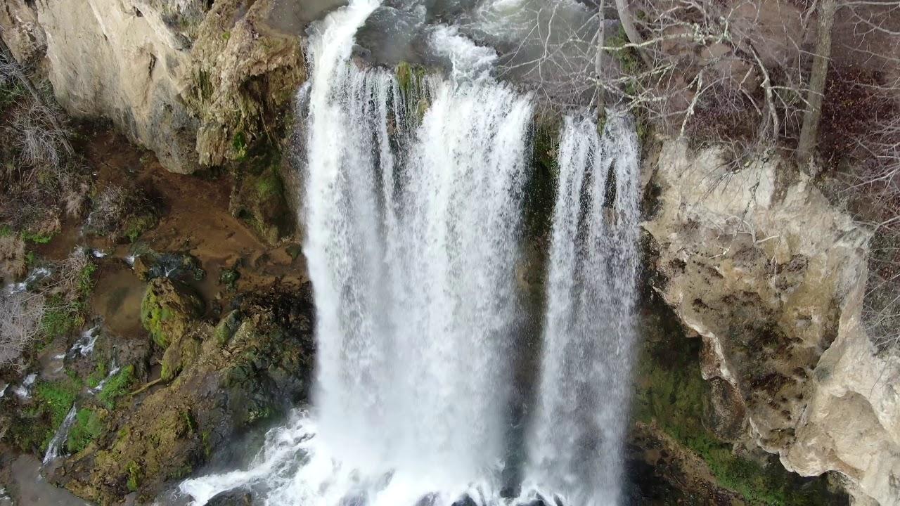 Estrenamdo drone en Falling Springs, Va