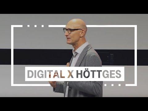 Social Media Post: Tim Höttges zu Digitalisierung   Digital X, 29.10.2019