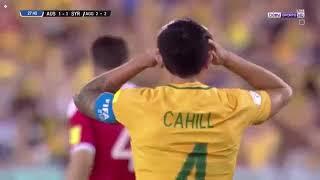 ملخص مباراة سوريا ضد استراليا 1-2  | اقوى مباراة للفريق السوري الى حد الآن | تصفيات كاس العالم