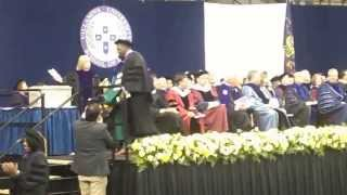 Antonio J. Burrell accepts Juris Doctorate Degree(, 2013-05-19T01:53:38.000Z)