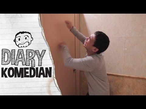 Diary Komedian - Etika Memakai WC Umum