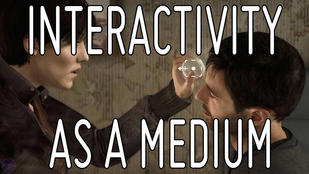 Interactivity as a Medium | Game Design Short Talk - YouTube