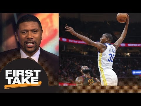 Jalen Rose says Cavaliers will get swept by Warriors in NBA Finals | First Take | ESPN