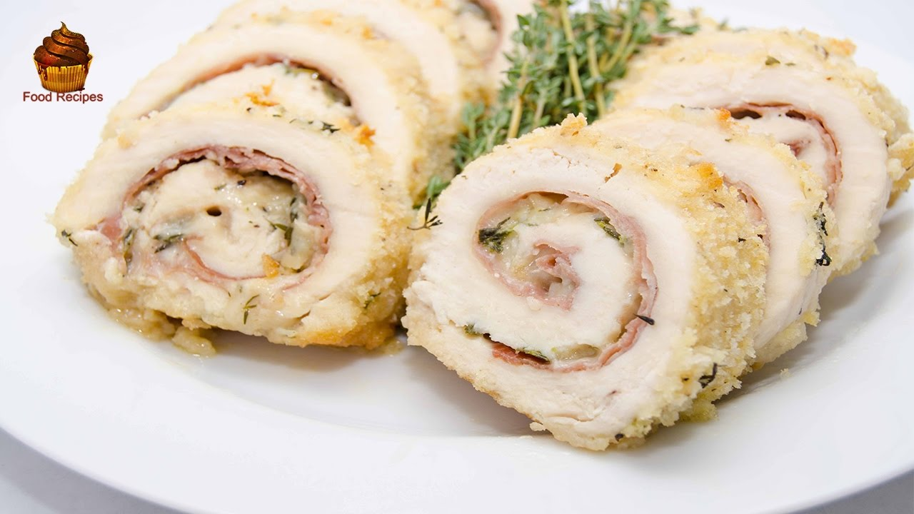 Delicious Chicken Cordon Bleu Nutrition Food Recipe