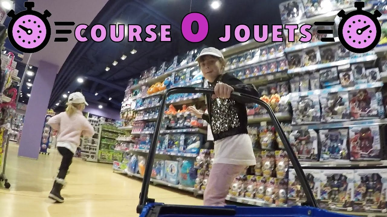 challenge course aux jouets dans le grand magasin de paris studio bubble tea challenge. Black Bedroom Furniture Sets. Home Design Ideas
