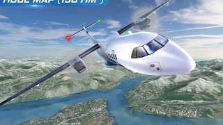 Airplane Flight Pilot Simulator Gameplay