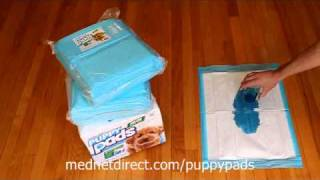 Puppy Pads From Mednet Direct! ®  The Best Pads Just Got Better!