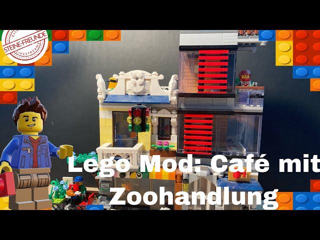 Mod: Café mit Zoohandlung (Lego Creator 3-1 Modifikation)