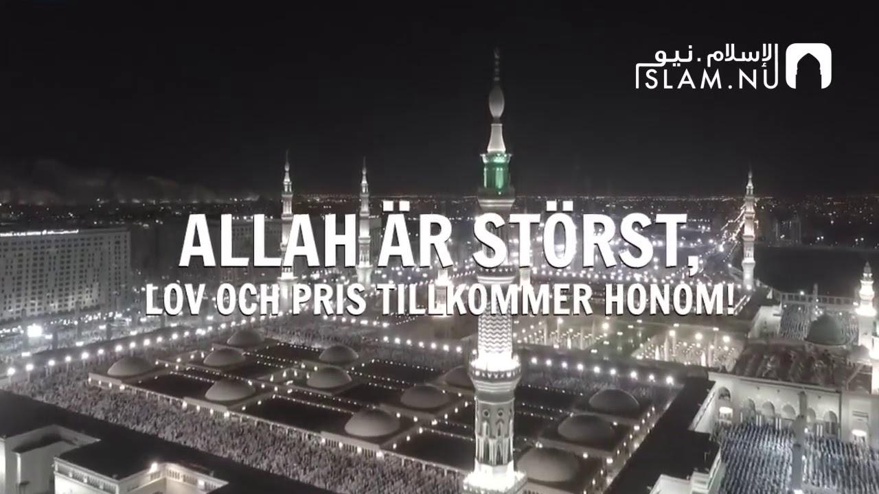 EID MUBARAK ÖNSKAR ISLAM.NU