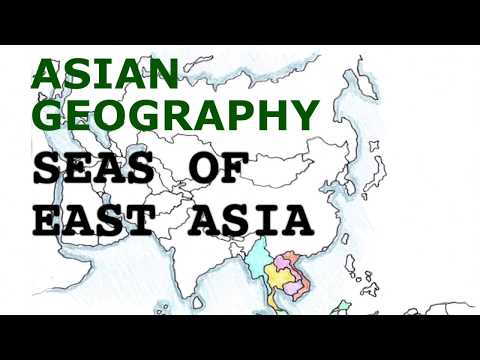 Asia Geography Song, Seas of East Asia