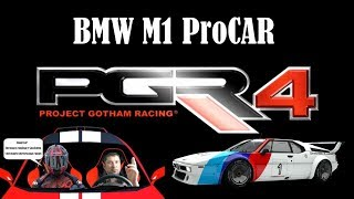 BMW M1 Procar Project Gotham Racing 4 на руле Thrustmaster T300rs 🎮 XBOX360