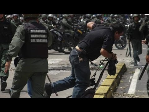 Journalists targeted in Venezuela