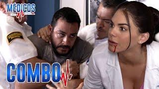 Médicos, línea de vida - C-19: ¡Leo desquita su coraje con Regina! | Las Estrellas