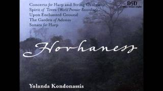 Alan Hovhaness - Concerto for Harp and String Orchestra, Op. 267: I. Largo, maestoso e grave